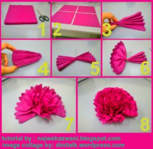 Membuat Topiary Bunga Pomander Balls dengan Kertas | Dini Talk About ...
